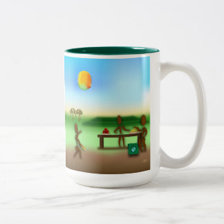 Zinglees ~ Farmer's Market Coffee Mugs