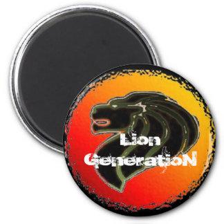 ziOn4US - Lion GeneratioN 6 Cm Round Magnet