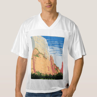 Zion National Park Men's Football Jersey