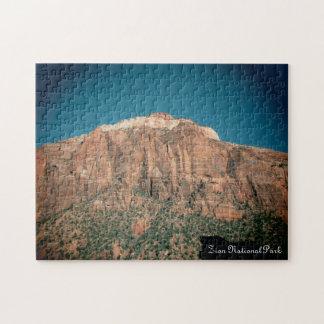 Zion National Park Vintage Photograph Jigsaw Puzzle