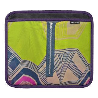 Zip up Art Deco Love2Snap iPad Sleeve