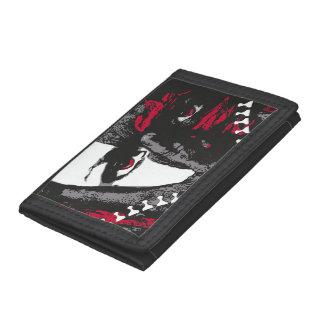 zipper face wallet