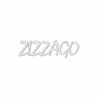 ZIZZAGO Embroidered long-sleeve T-Shirt RED