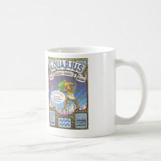 ZODIAC Aquarius Basic White Mug