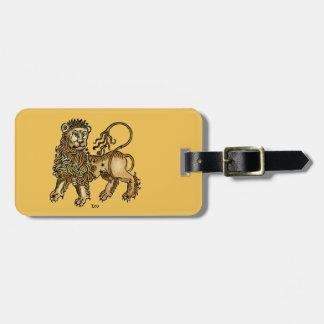 Zodiac: Leo, 1482 Luggage Tag