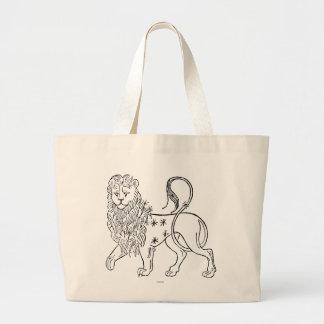 Zodiac: Leo, 1494 Large Tote Bag
