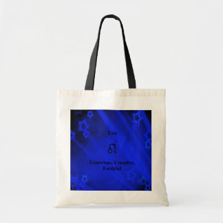 Zodiac Sign: Leo Tote Bag