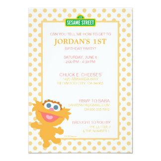 Zoe Baby Birthday Card