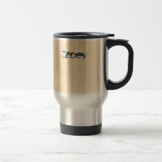 Zoey's travel mug