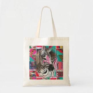 Zola the Zebra jumbo tote bag