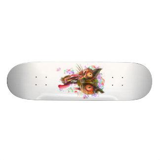 Zombie Acid Cat 19.7 Cm Skateboard Deck