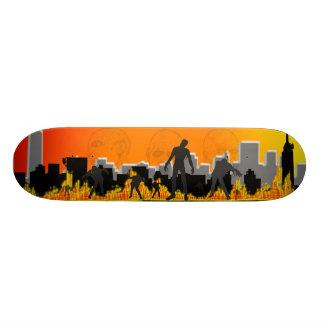 Zombie Apocalypse 20 Cm Skateboard Deck