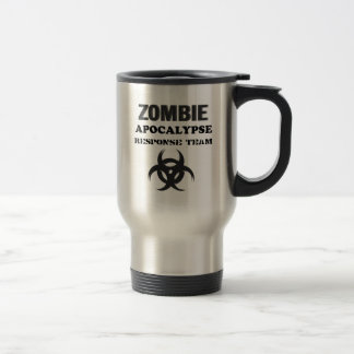 Zombie Apocolypse Response Team Stainless Steel Travel Mug