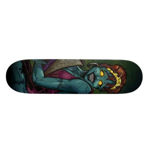 Zombie Babe 02 Skate Board Decks