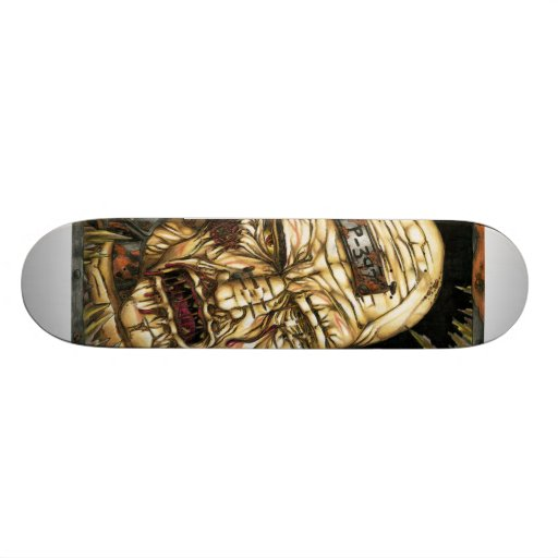 zombie board skateboard