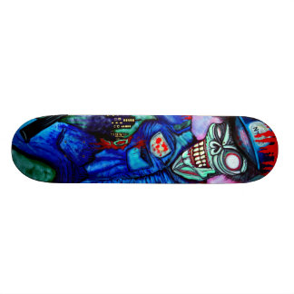 Zombie Cop Skateboard