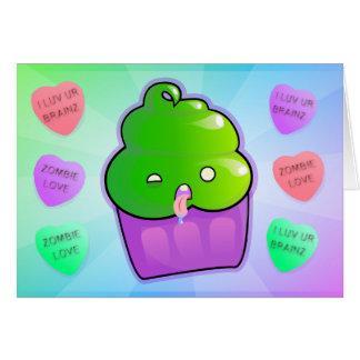 Zombie Cupcake Cards