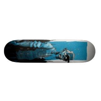 zombie custom skate board