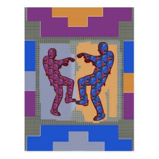 ZOMBIE Dance Dec 2013 Postcard