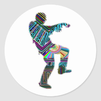 Zombie Dance - Kids PaperCraft Giveaways Stickers