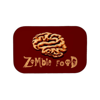 Zombie Food Brainz Brains Halloween Props Lunch Box