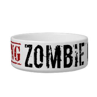Zombie Gerbil Bowl Pet Food Bowls
