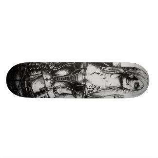 Zombie Girl Skate Board