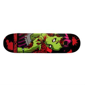 Zombie Girl Skateboard