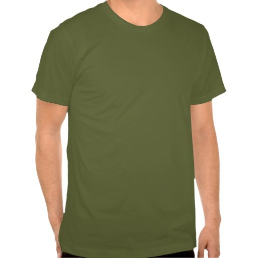 Zombie! Green with black boarder Moon T Shirt