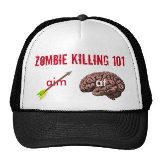 Zombie Killing 101 (aim arrow at brain) Cap