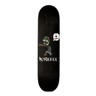 Zombie mindless deck 20 cm skateboard deck