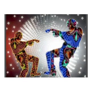 ZOMBIE Moon DANCE Post Card