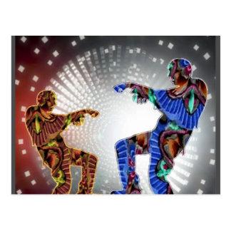 ZOMBIE Moon DANCE Postcards