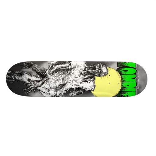 Zombie Moon Skateboard