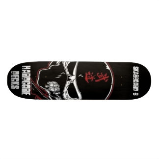 zombie ninja style custom skate board