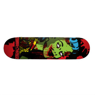 Zombie Pin-Up Skateboard