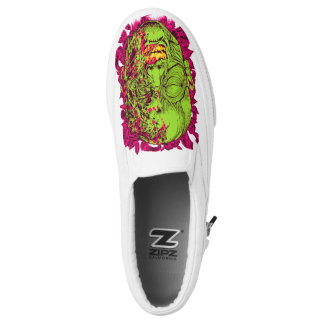 ZOMBIE POP PRINTED SHOES