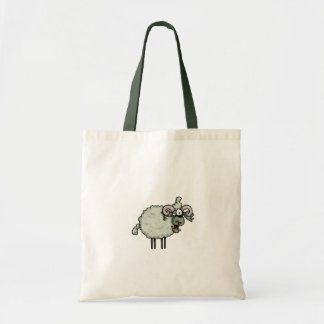 zombie ram trick or treat tote bag