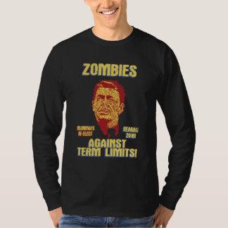 Zombie Reagan - Term Limits Tee Shirts