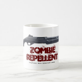 ZOMBIE REPELLENT, Ca... Basic White Mug