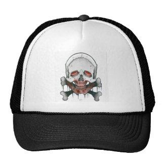 """""""Zombie Skull & Crossbones Cap"""