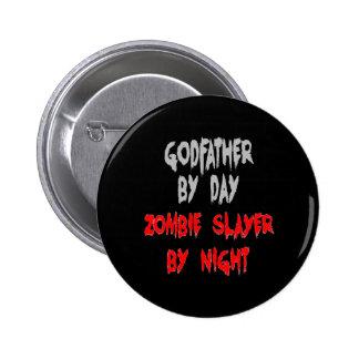 Zombie Slayer Godfather 6 Cm Round Badge