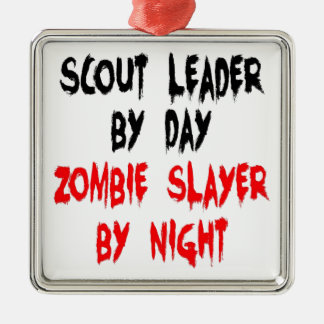 Zombie Slayer Scout Leader Christmas Tree Ornament