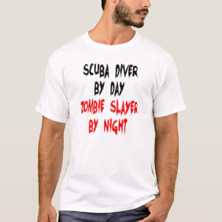 Zombie Slayer Scuba Diver T-Shirt