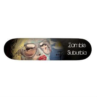 Zombie Suburbia Skateboard