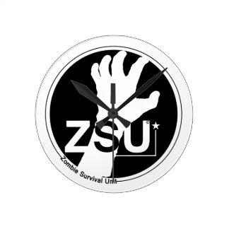 Zombie Survival Unit (ZSU) Round Clock