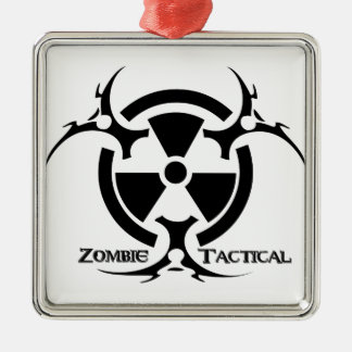 Zombie Tactical Apparel Christmas Ornament