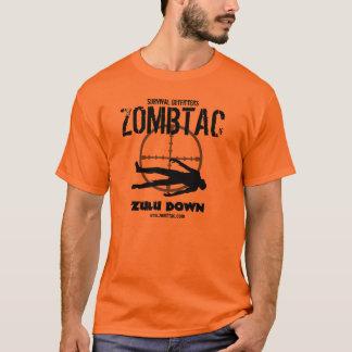 """Zombie Tactical """"Zulu Down!"""" T-Shirt"""