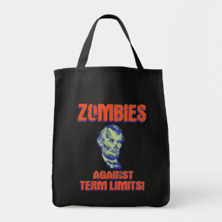 Zombies Against Term Limits! Canvas Bags