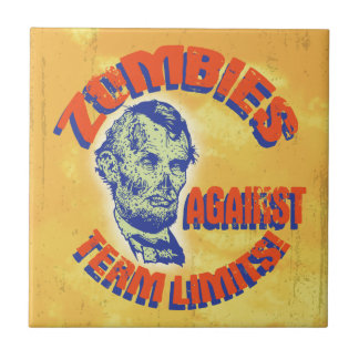 Zombies Against Term Limits! Small Square Tile